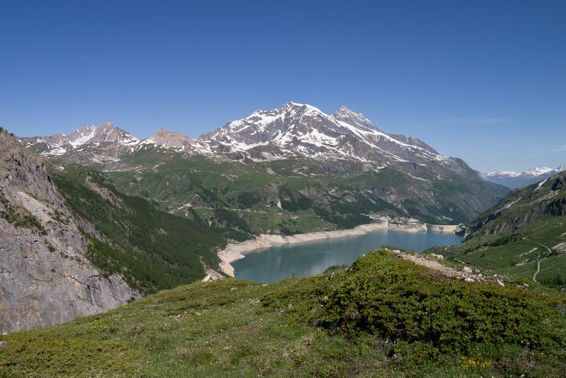 Tour of the vanoise masterplan mountaineering - Lac du chevril ...