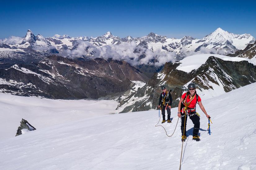 Stunning views of the Zermatt area