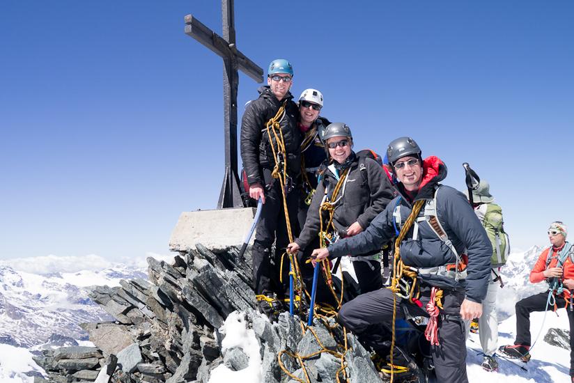 Group summit shot