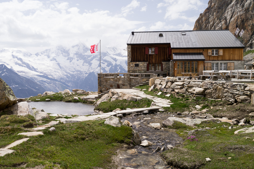 Stunning location for a mountain hut