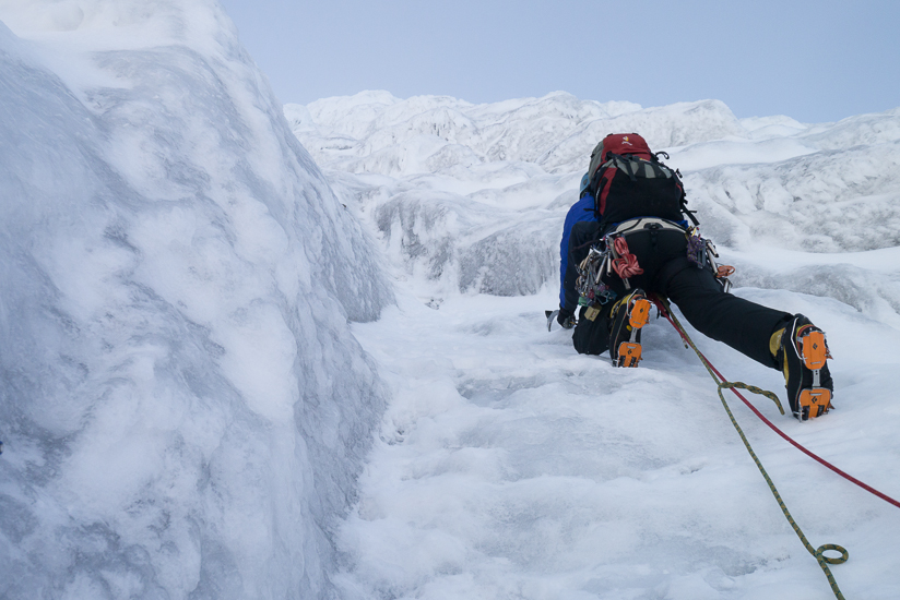 Me starting the fifth pitch