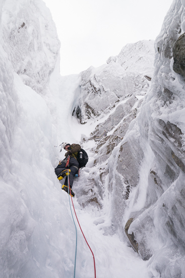 Climbing the rogue pitch