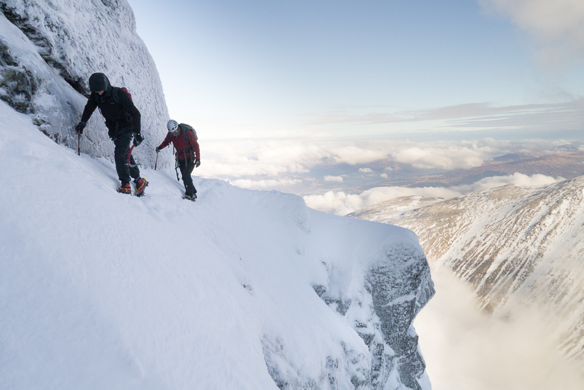 Soloing Eastern Traverse