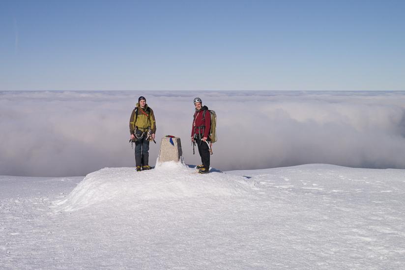 Fantastic summit conditions
