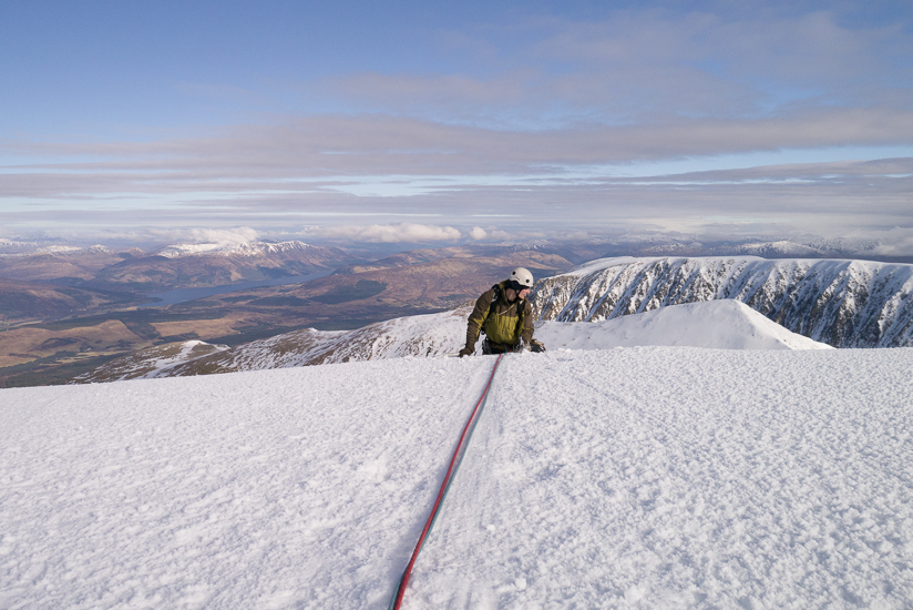 Topping out to brilliant conditions
