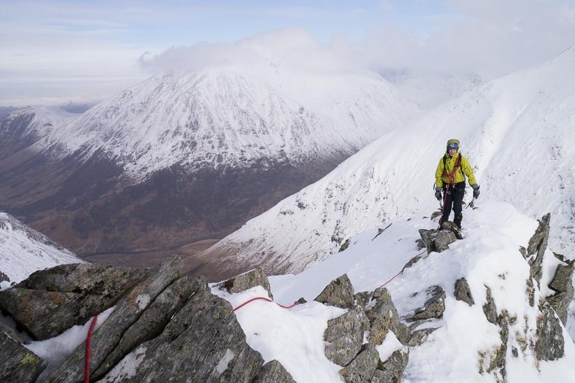 More fantastic ridge walking