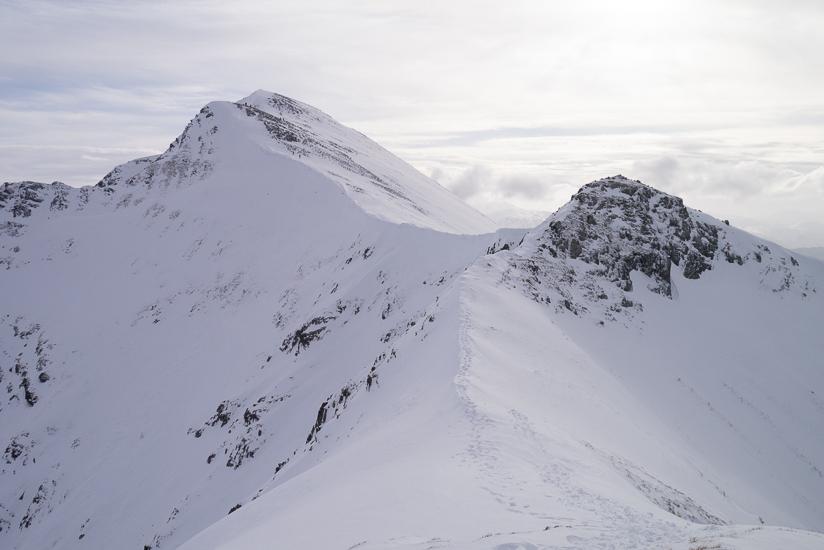 North Ridge and Stob Ban