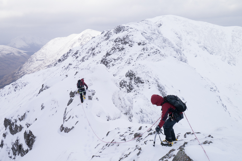 Fantastic ridge walking