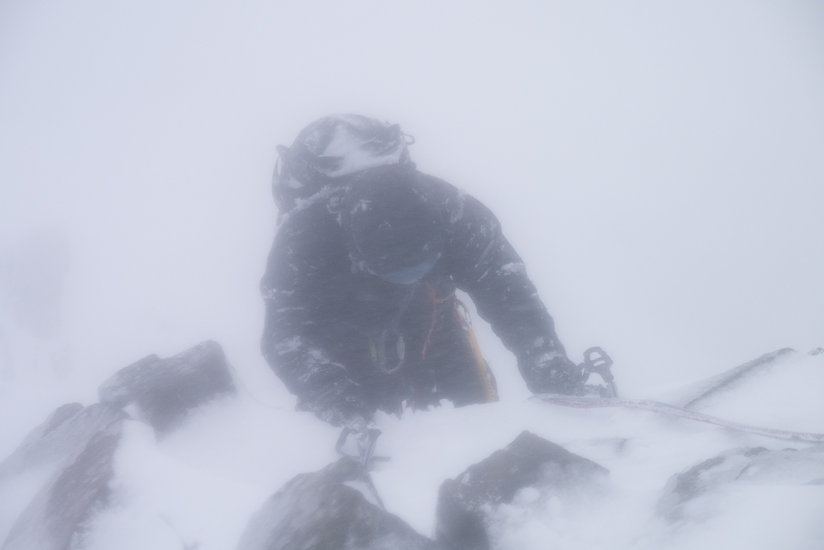Horrible conditions on top