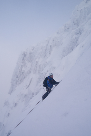 Climbing the penultimate pitch