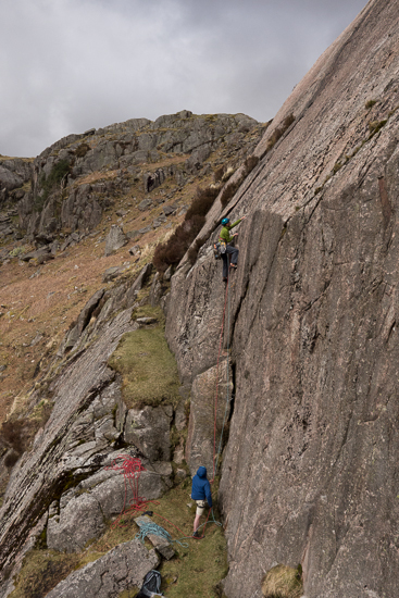 Climbing in the Lakes