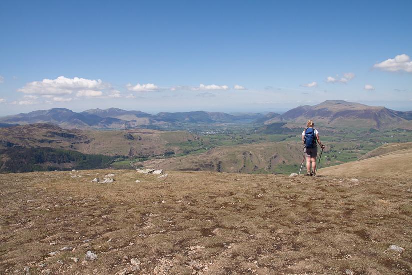 Lovely view towards Keswick