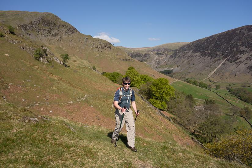 Traversing above Glenridding