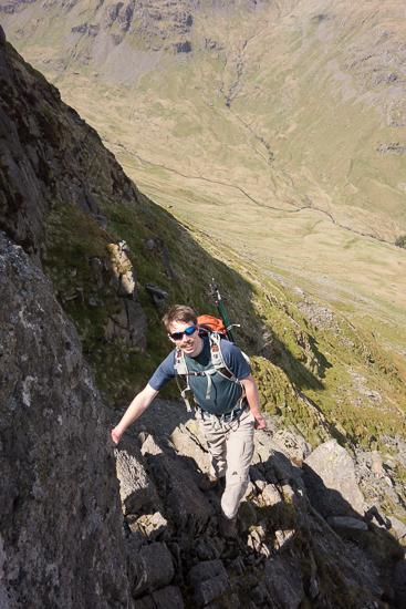 At the start of Pinnacle Ridge