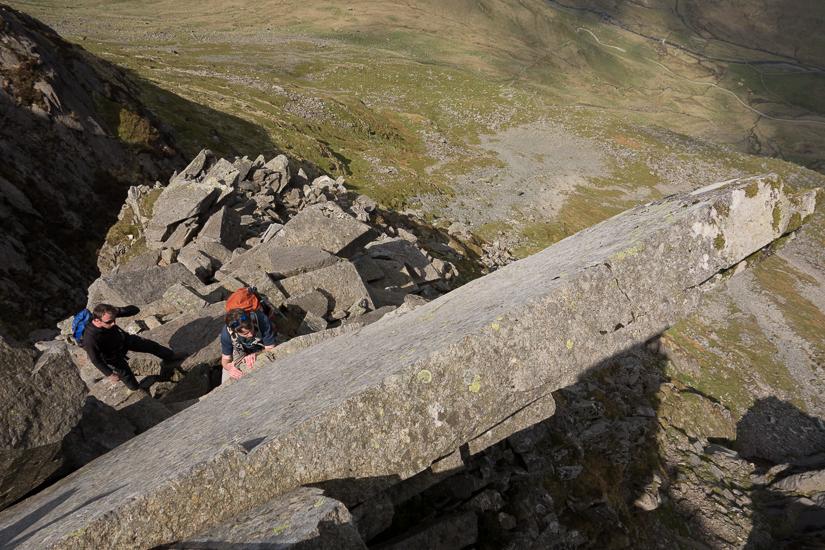 Scrambling on Pinnacle Ridge