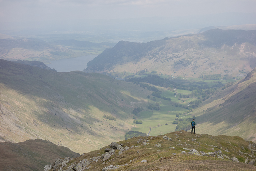 Descending from Nethermost Pike