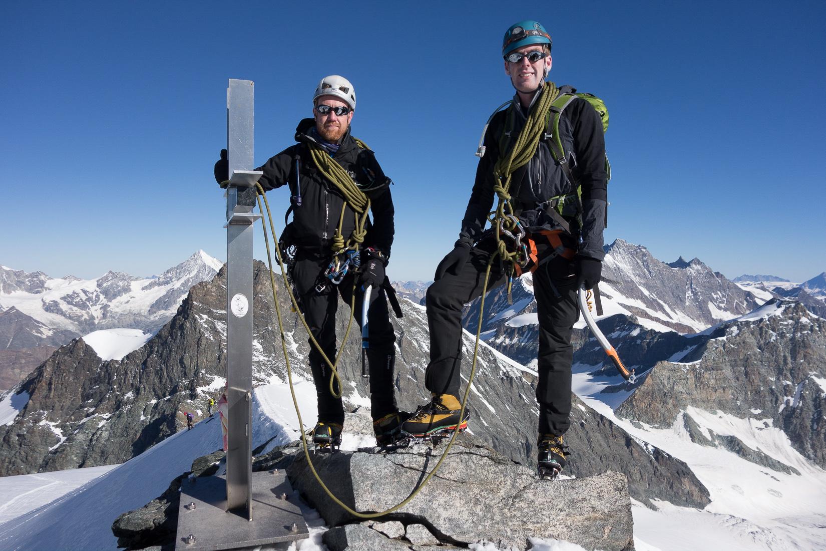Strahlhorn Summit Photo