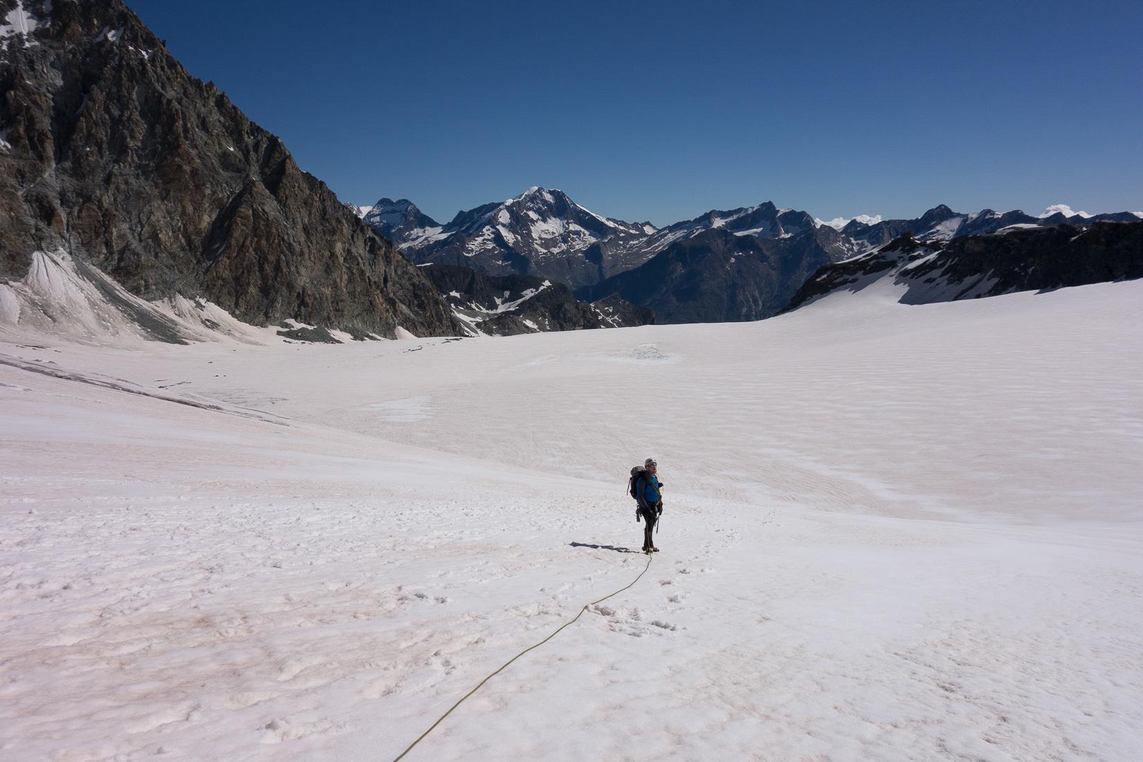 A hot glacier!