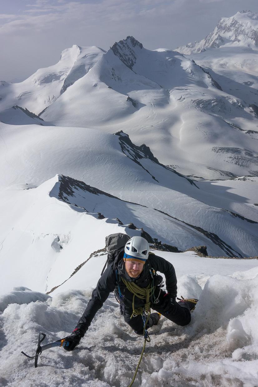 Climbing the Eisnase