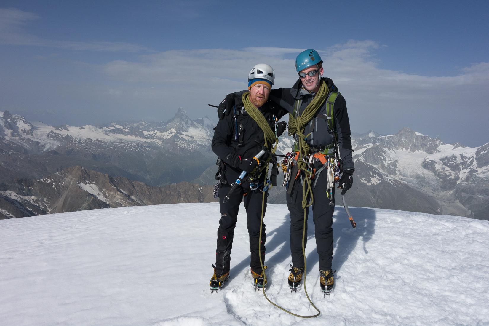 Alphubel Summit Photo