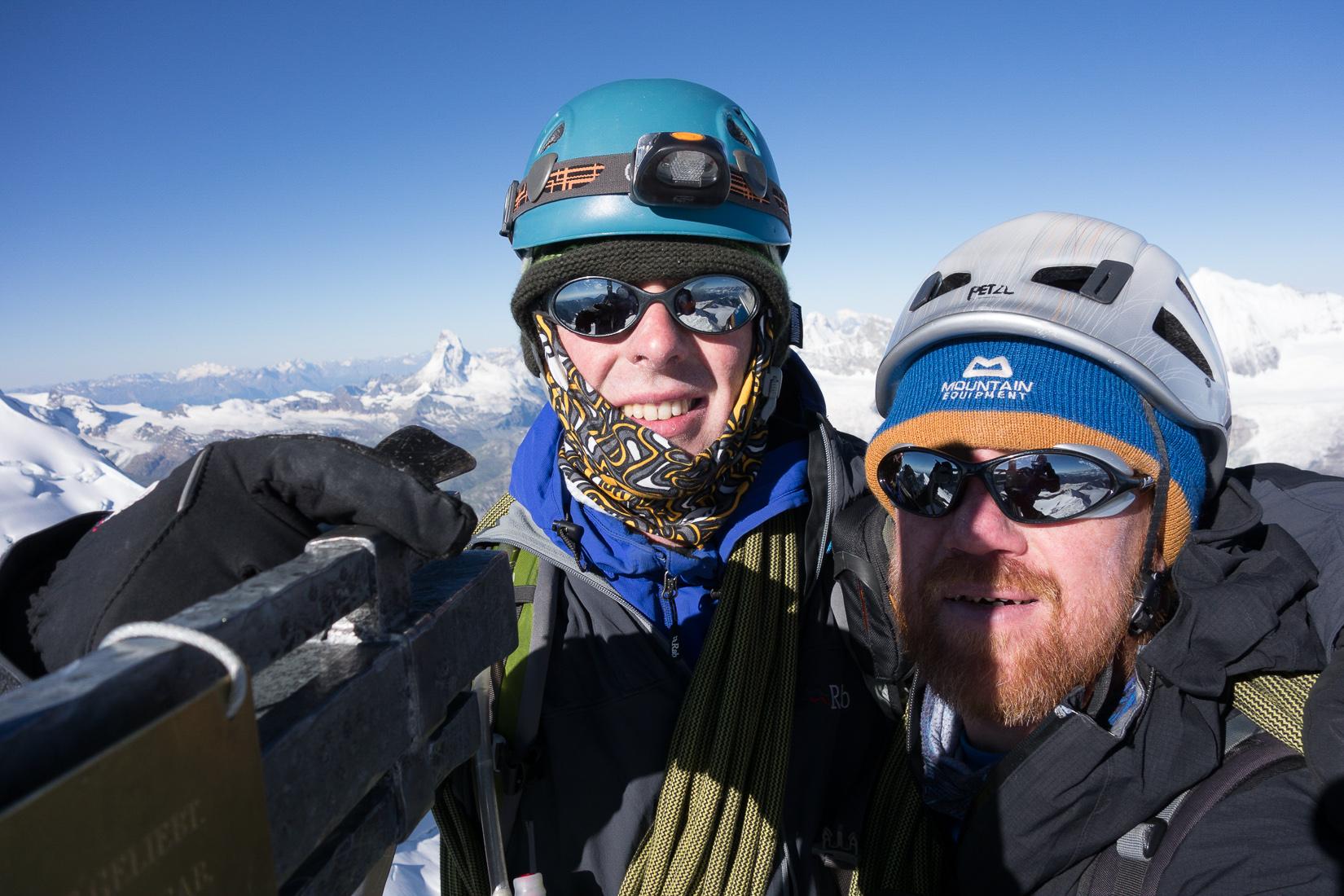 Nadelhorn Summit Photo