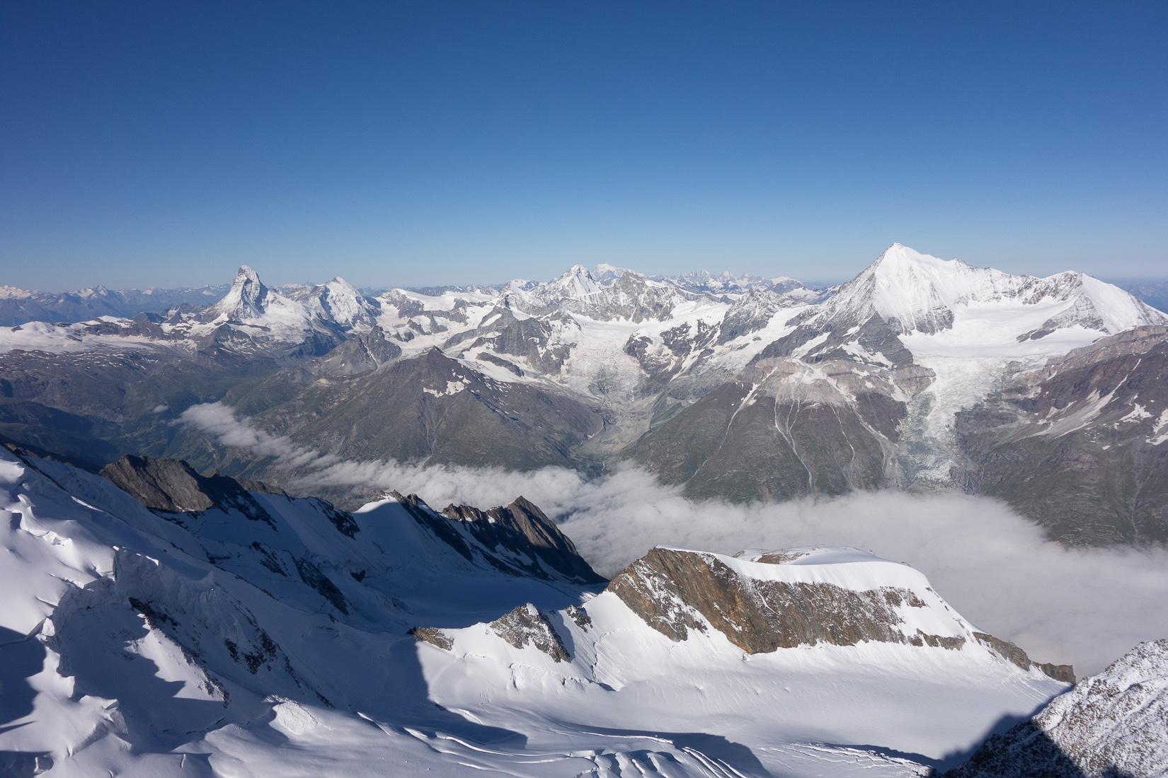 Matterhorn & Weisshorn
