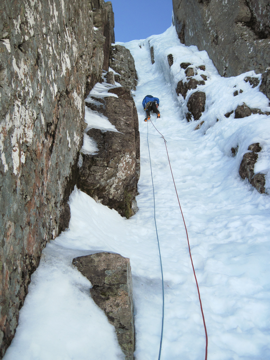 Me on the second pitch of Left Twin