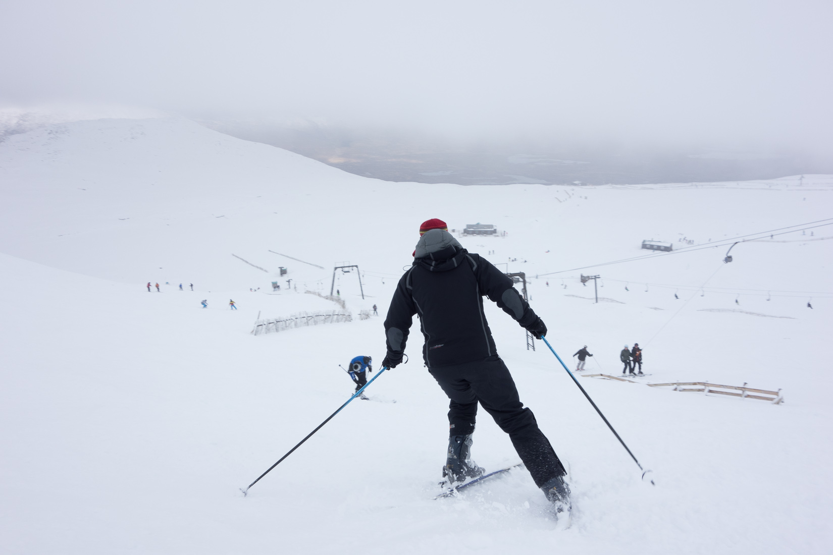 Skiing at Glencoe Mountain Resort