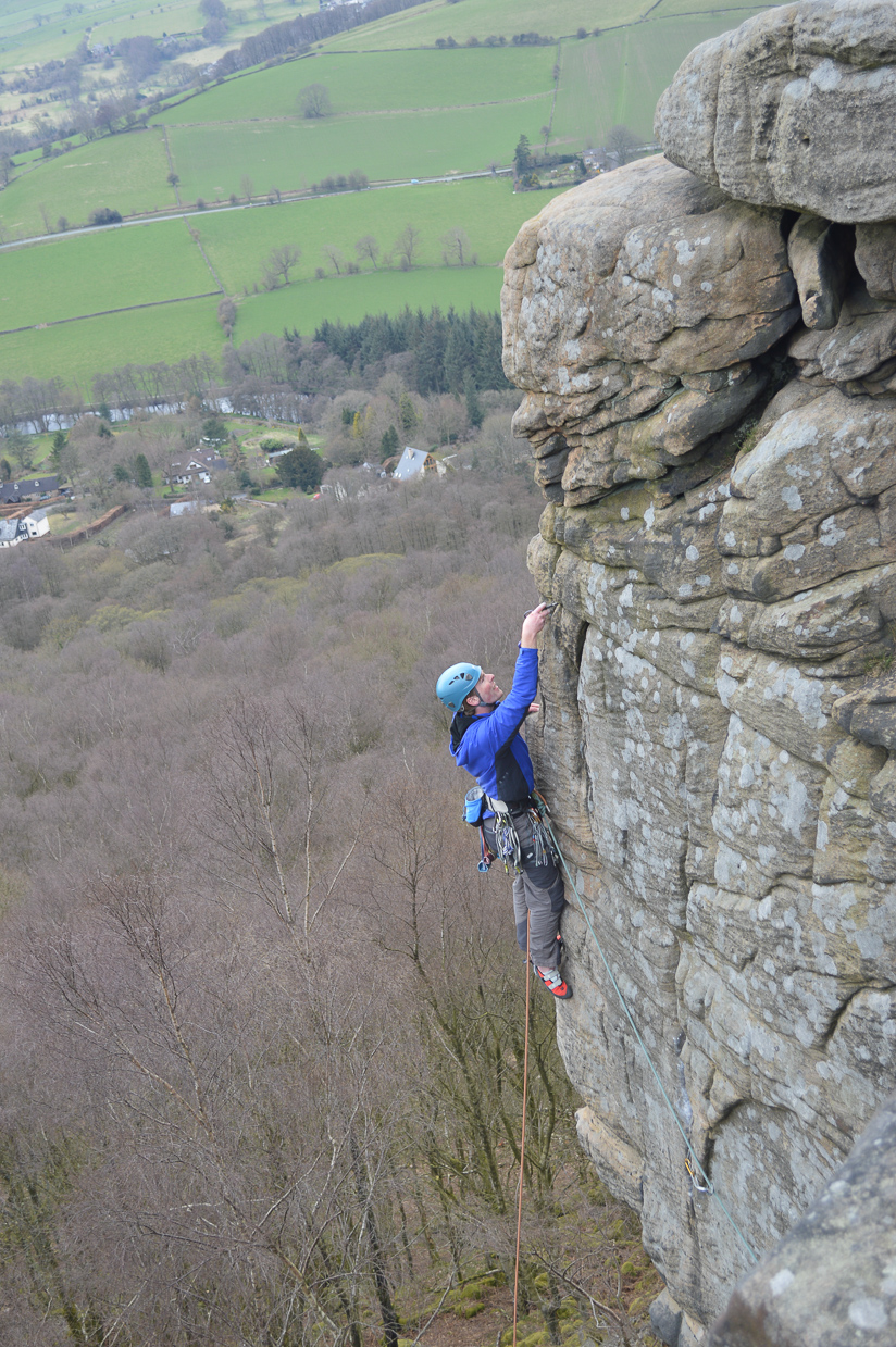 Me on Chequers Buttress