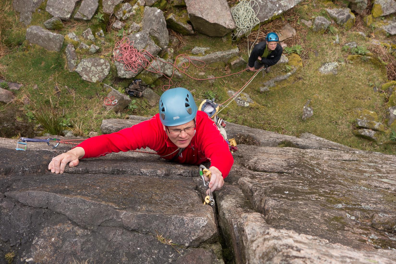 Climbing Plumbline