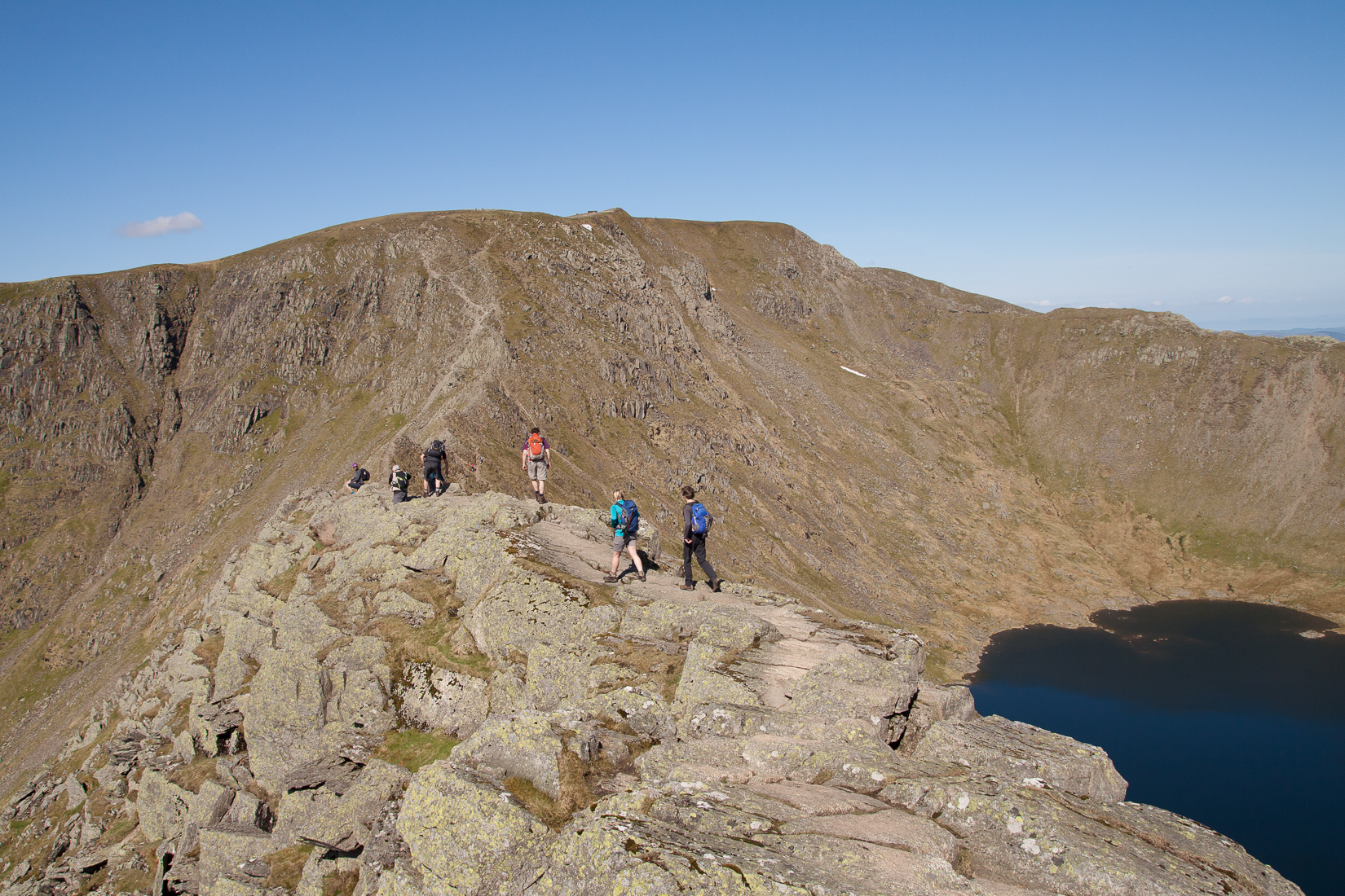 On Striding Edge