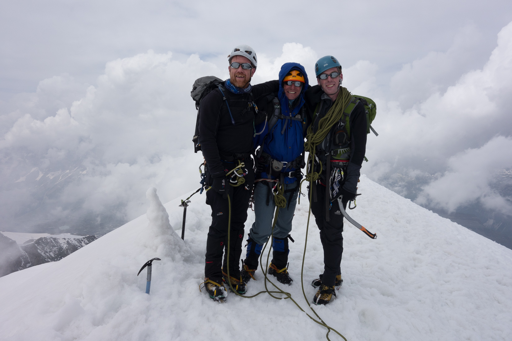 Breithorn Summit Photo