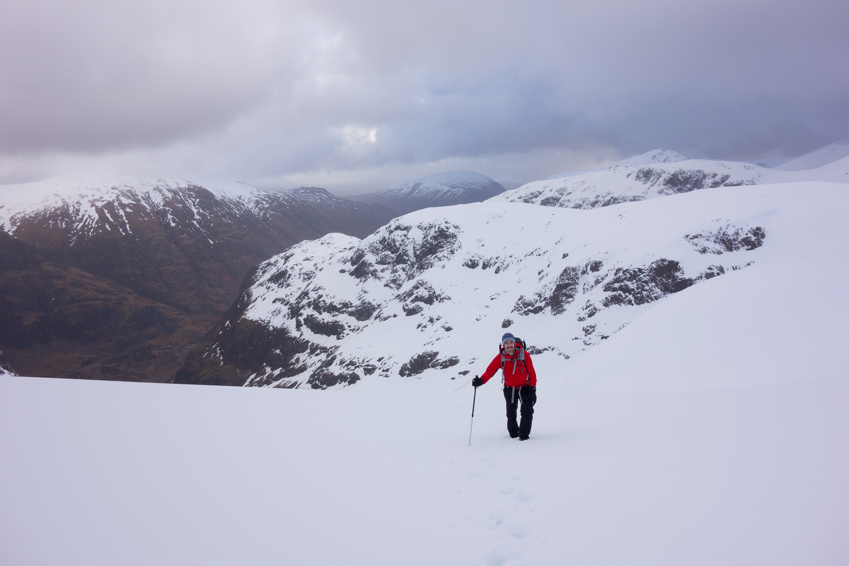 Almost in the coire