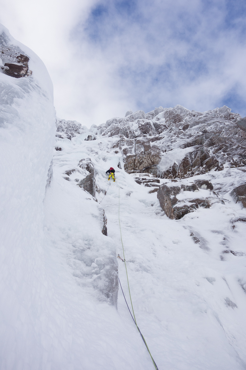 On the first pitch of Poacher's Fall