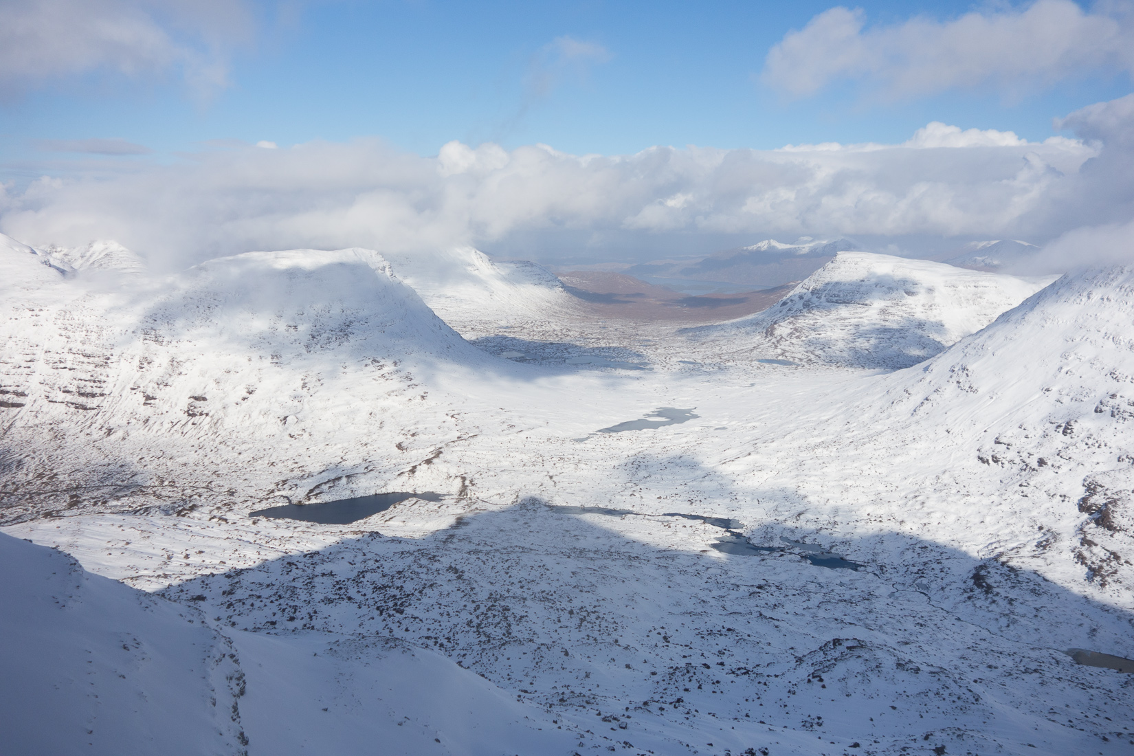 Fantastic view of Coire Ruadh-staca