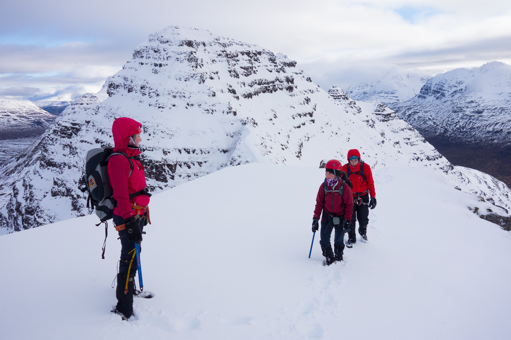 On the ascent to Sgurr Mhor