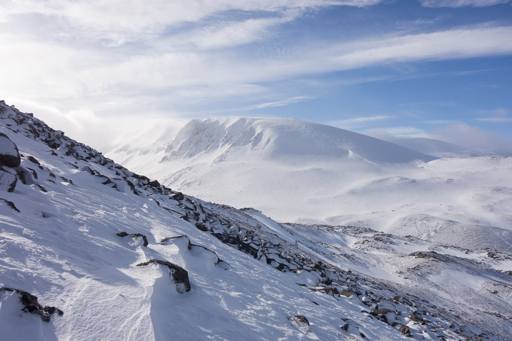 Braeriach and the Lairig Ghru