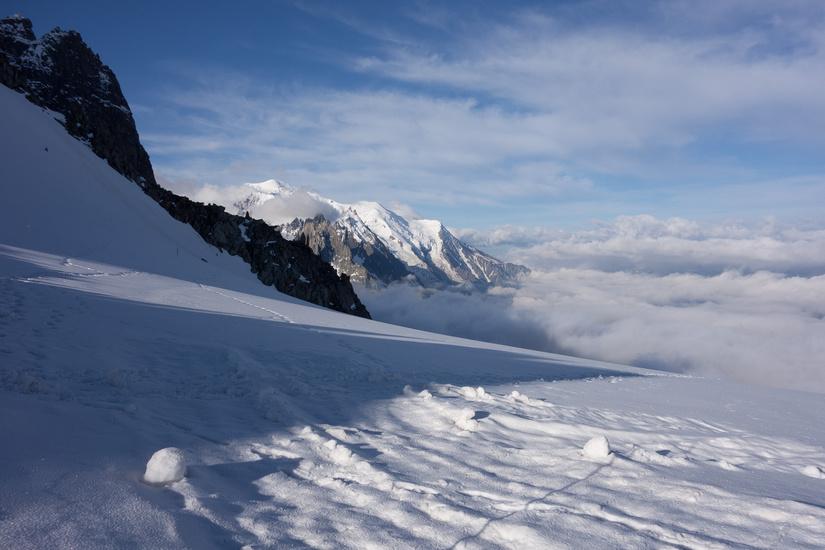 Fantastic views towards Mont Blanc