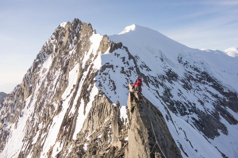 Airy climbing