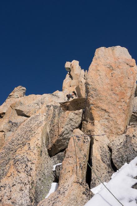 Brilliant climbing