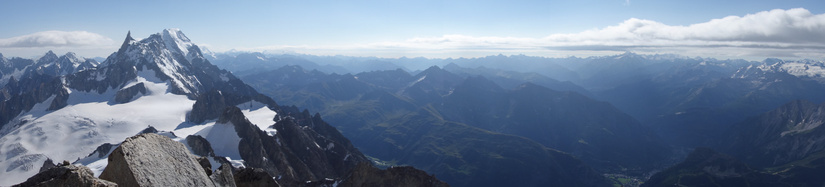 View towards Italy