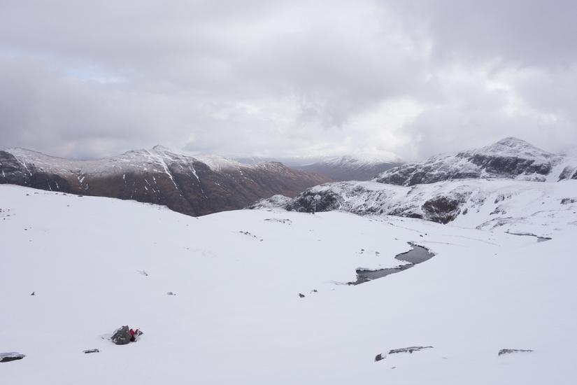 Stunning views down Glencoe