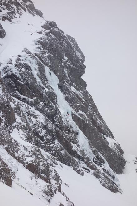 Climbers on the Curtain