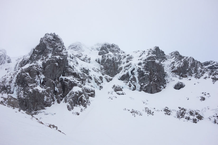 Trident Buttress looking good