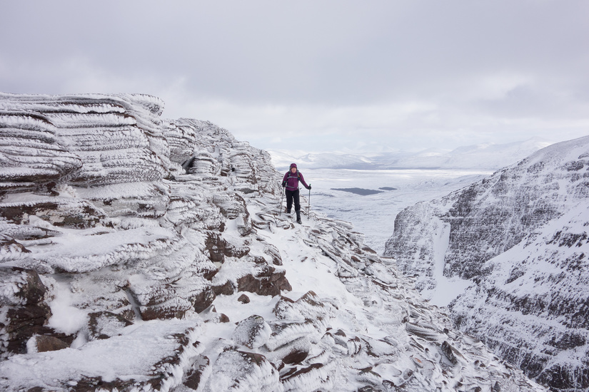On top of Carrag Bhuidhe South Buttress