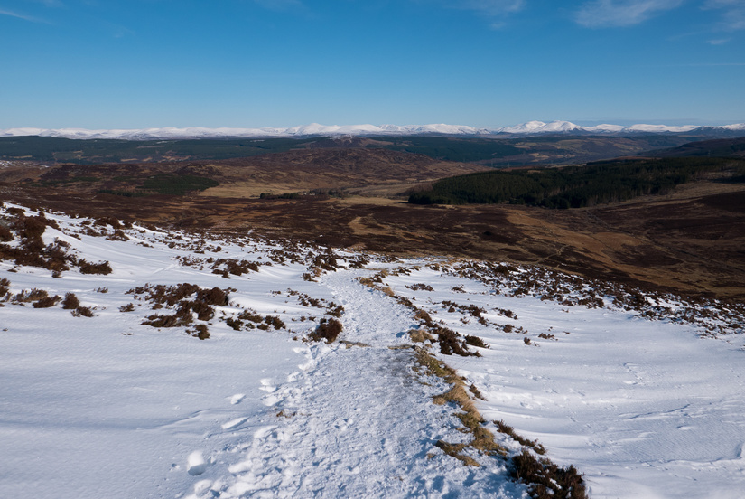 View towards the Cairngorms