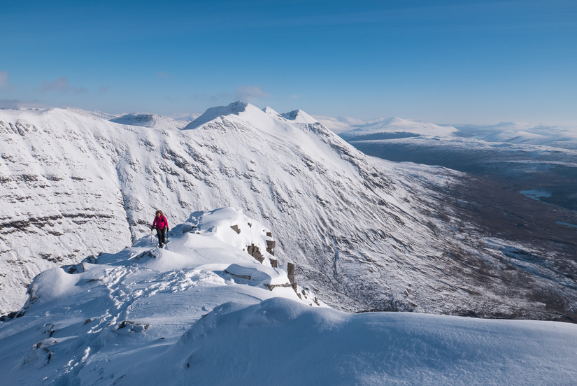 Stunning views back towards Beinn Eighe