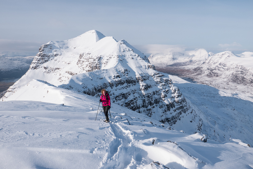 Looking towards Liathach