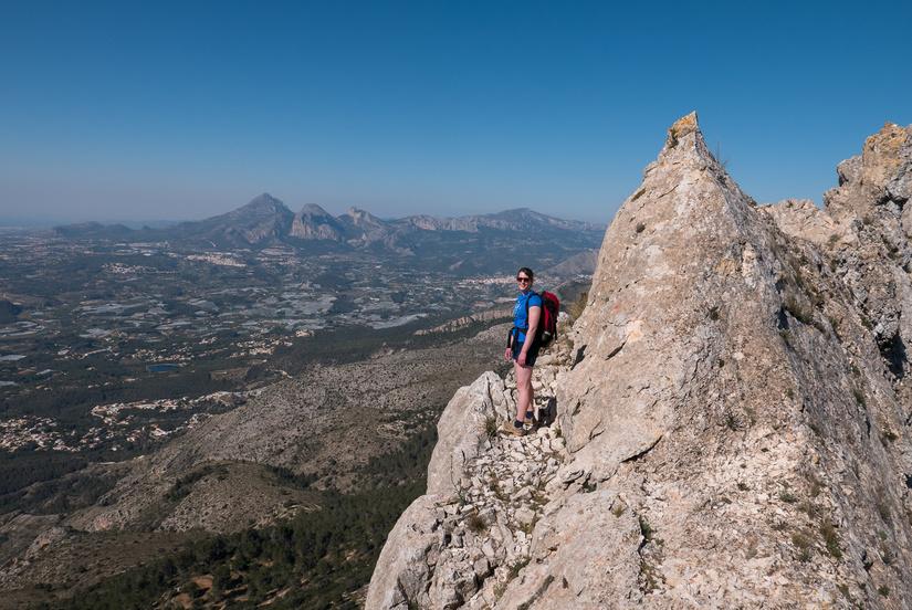 Great views on the ridge