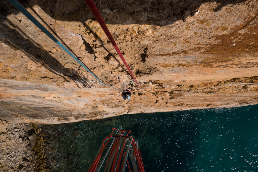 Sustained & steep climbing